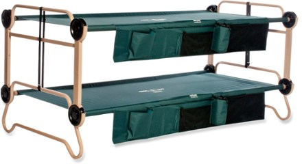 DiscOBed CamOBunk Cots with Organizers  Extra Large