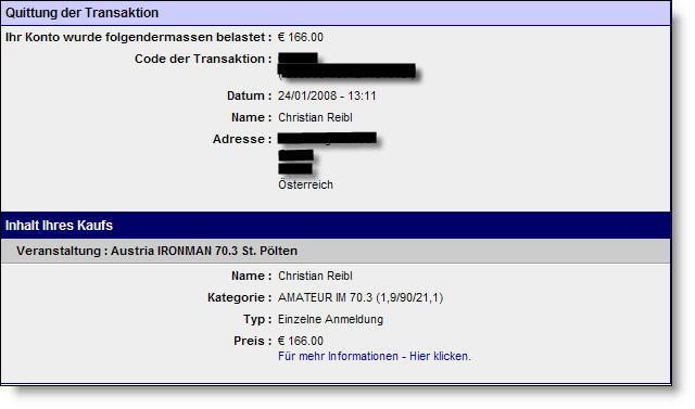 Anmeldung AUSTRIA IRONMAN 70.3