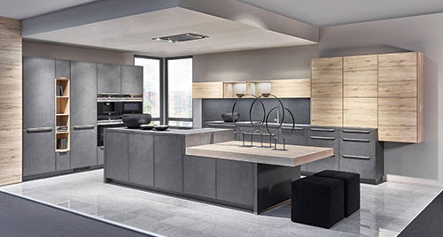 Nobilia kitchens  Reichert Wood