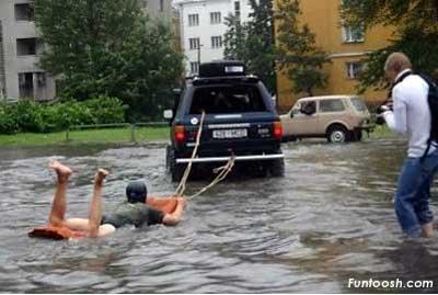 Rafting de pobre