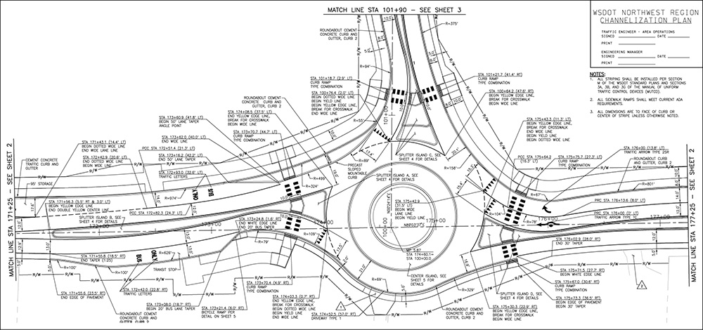 Coordination is Key to Designing Roundabouts on State