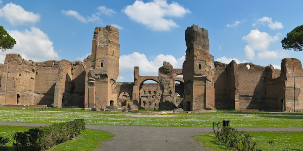 Image result for the baths of caracalla
