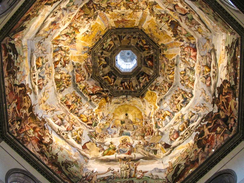 Image result for florence cathedral dome interior
