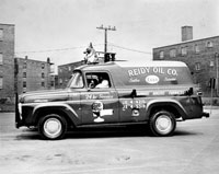 Classic Reidy Oil Company delivery truck