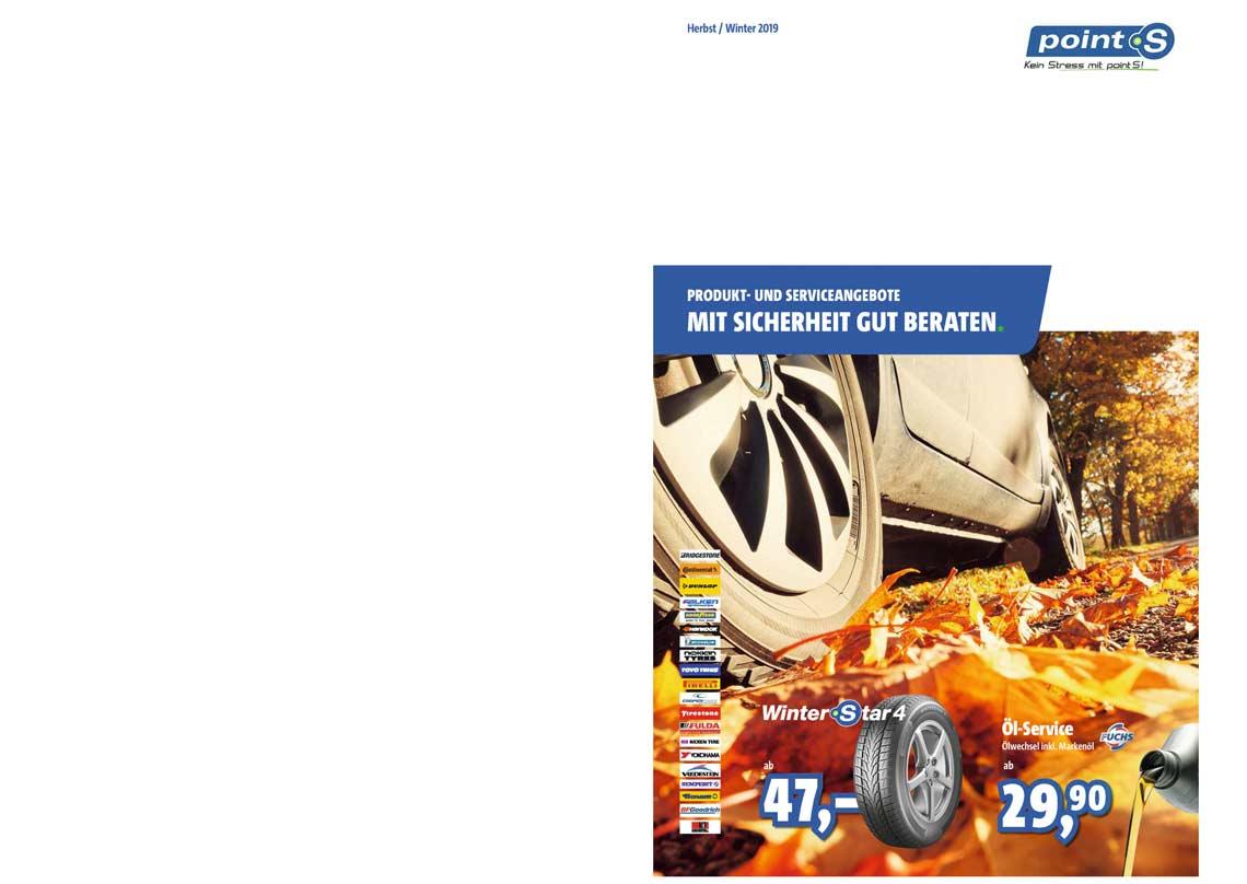 Produkt- und Serviceangebote Reifen Richter Herbst/ Winter 2019