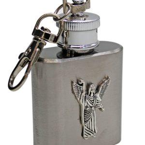 Square Flask Keychain 1 oz.