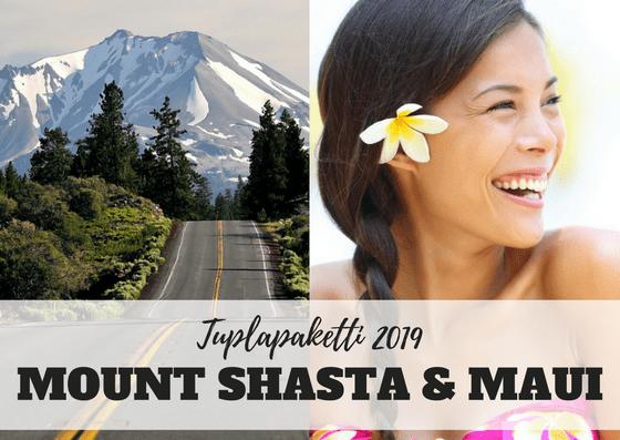 Mount Shasta ja Maui opintomatkat