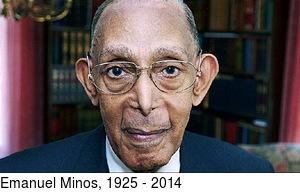 Emanuel Minos, 1925 - 2014
