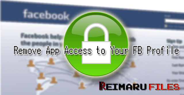 Remove App Access to your Facebook Profile Facebook Privacy Guide