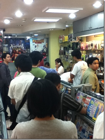mass effect 3 datablitz pre-order bonus philippines image long line