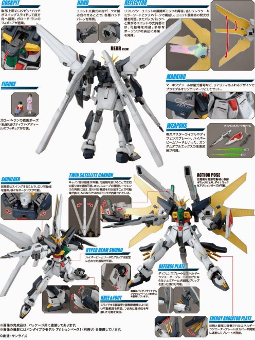 mg gundam double x 4