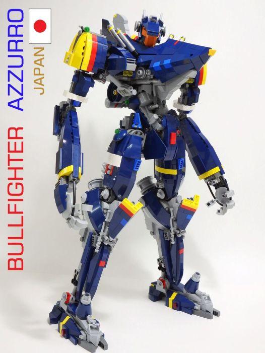 bull fighter azzuro 1