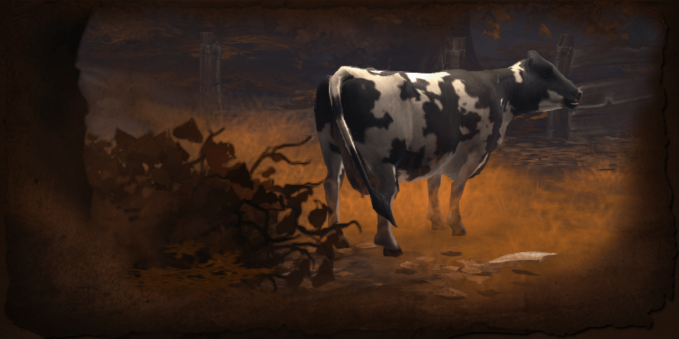 "Blizzard describes this as  ""imaginative"" artist rendition of the ""bipedal, bardiche-bearing bovine"" threat."
