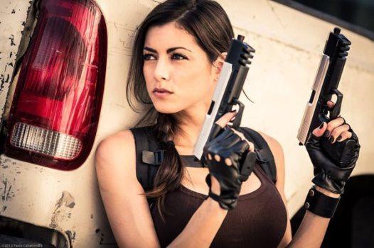 LeeAnna Vamp as Lara Croft