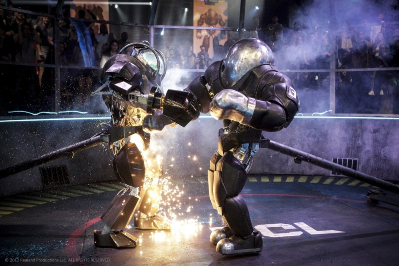 ROBOT COMBAT LEAGUE -- Fight Night 2 -- Pictured: (l-r) Thunderskull, Brimstone -- (Photo by: Nicole Wilder/Syfy)