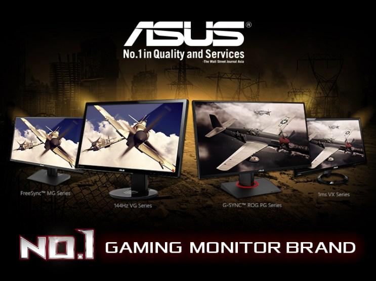 ASUS ROG - No 1 Gaming Monitor