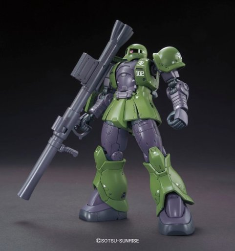 HG 1-144 Zaku I [Slender - Denim custom] Gundam The Origin ver. 1