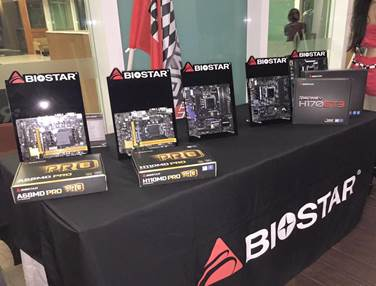 biostar mobo showcase