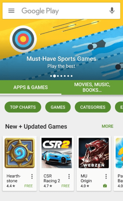 Featured on Google Play