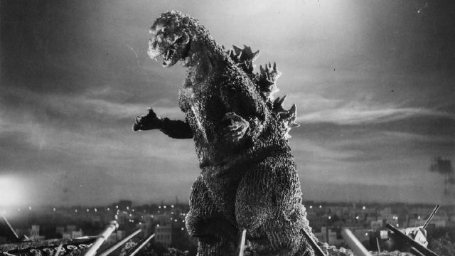 The first ever Godzilla in the 1954 film.