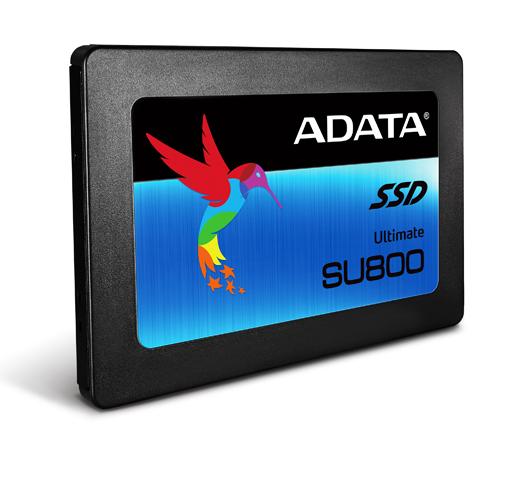 ADATA Launches the Ultimate SU800 SATA 6Gb/s 3D NAND SSD