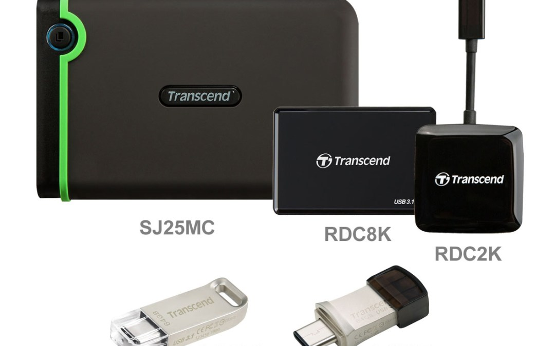 Transcend Introduces a Comprehensive USB Type-C Product Line-up for the Latest Mobile Devices and Computers