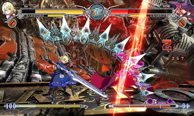 es blazblue central fiction
