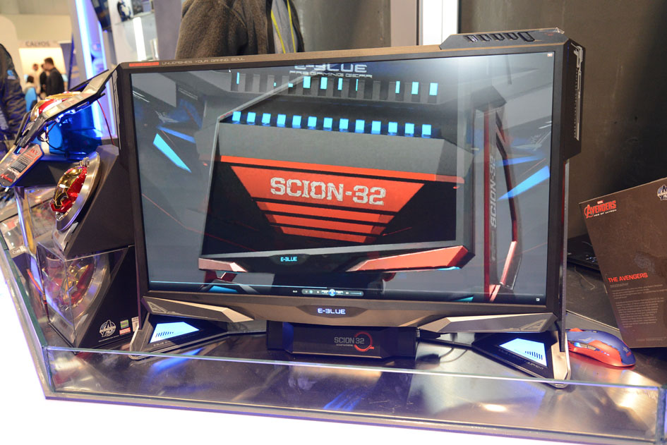 E-BLUE Reveals the First Hybrid-Tower Monitor