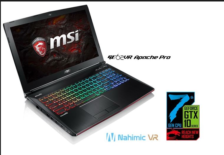 MSI is Reaching New Heights with New Intel 7th Gen Gaming Laptops