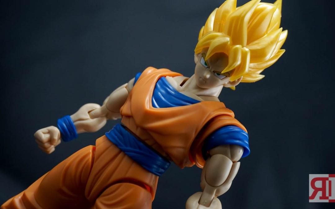 Bandai Figure-Rise Standard Super Saiyan Son Goku Review