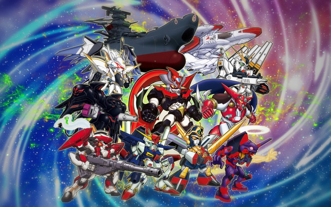 Super Robot Wars V is Now Available
