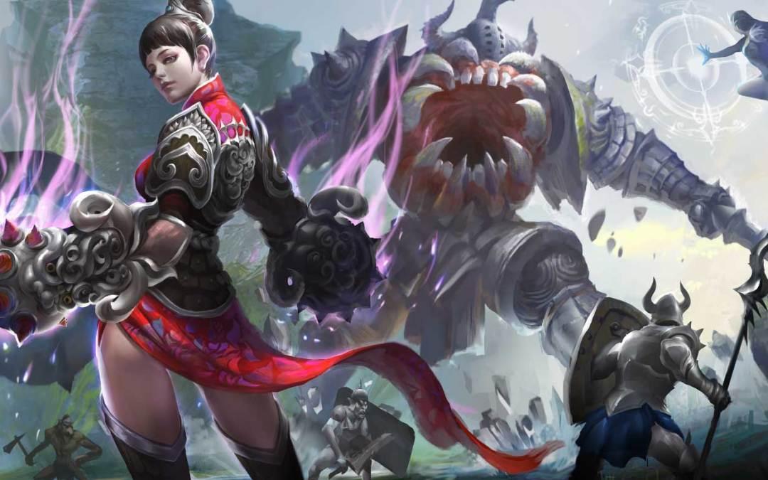 Darkness Reborn Update Features New Fighter Class