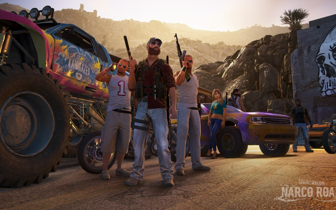 Tom Clancy's Ghost Recon Wildlands First Expansion; Narco Road is Now Available