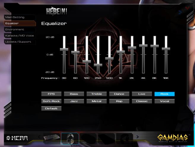 Hera software Hebe M1 2