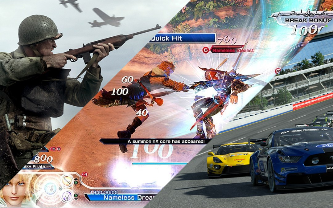 Try These PlayStation 4 Games First at ESGS 2017