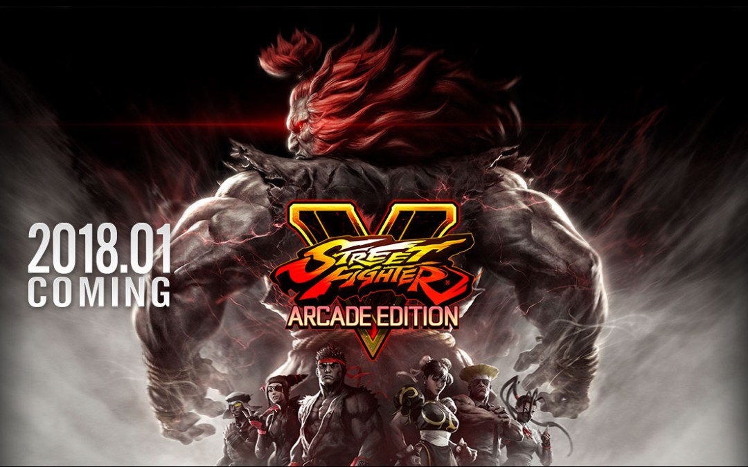 Street Fighter V Arcade Edition Announced
