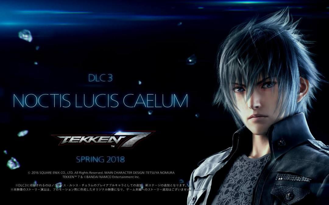 The Tekken and Final Fantasy Universes Collide as Noctis Lucis Caelum Joins the Next Battle in Tekken 7