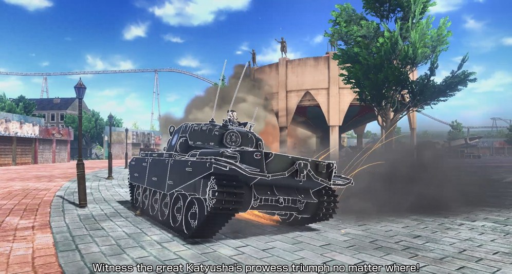 GIRLS und PANZER Dream Tank Match ss-6