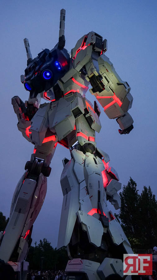odaiba gundam statue-24