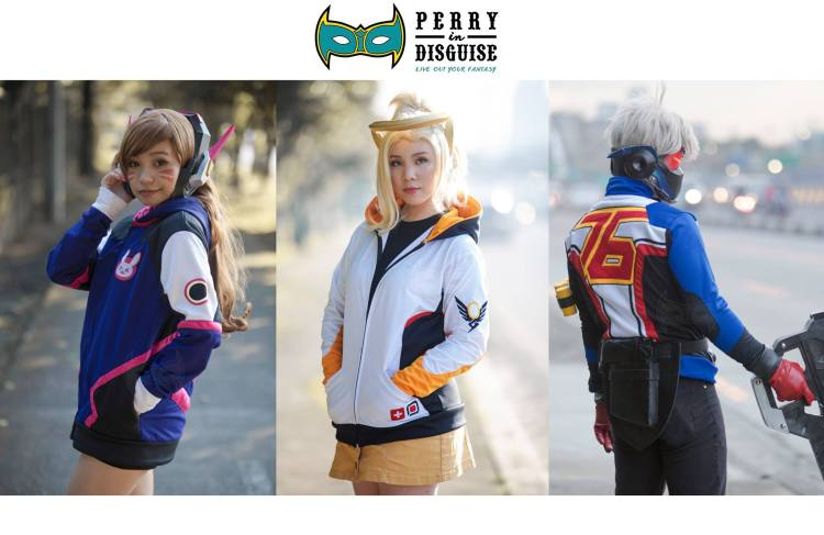 perry in disguise overwatch jacket