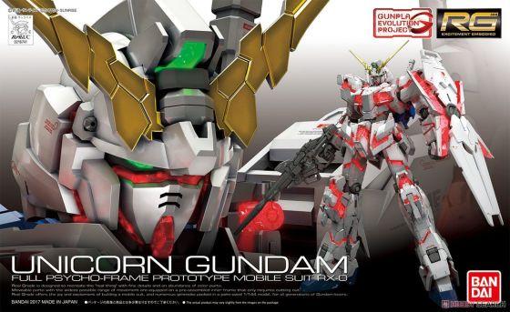 rg unicorn gundam gunpla