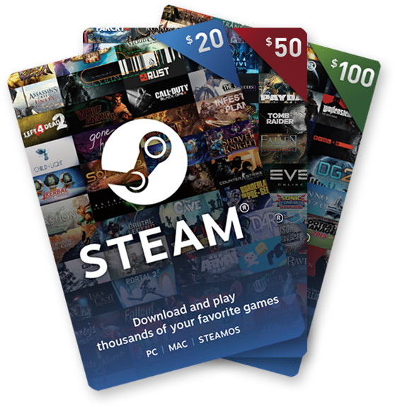 steam cards
