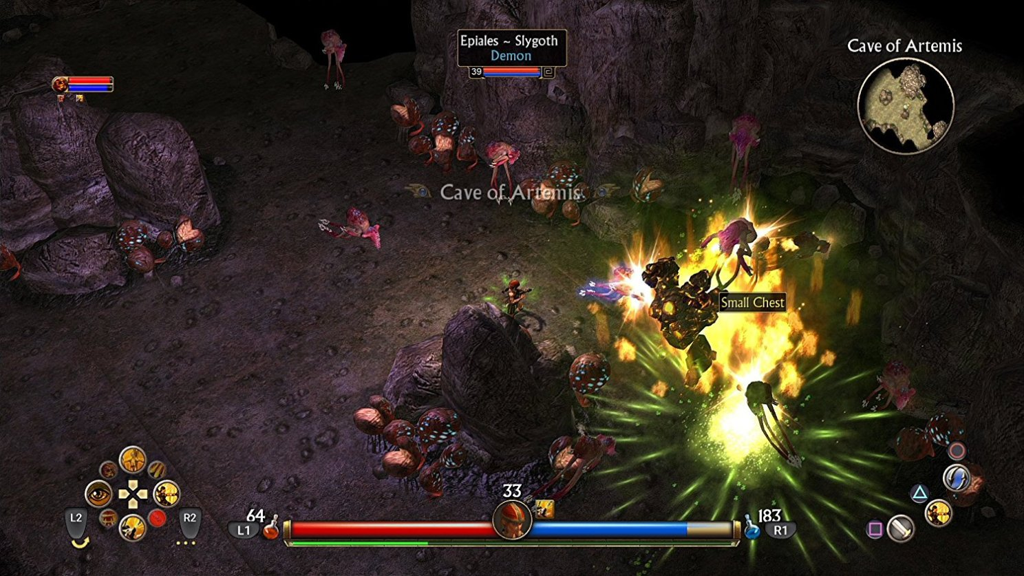 titan quest console screenshot 4