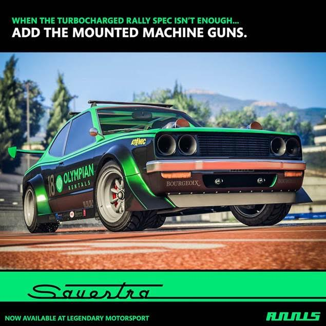 New in GTA Online for 2018: The Annis Savestra Plus New Bonuses