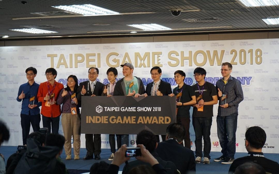 Taipei Game Show 2018 Indie Game Awards Winners