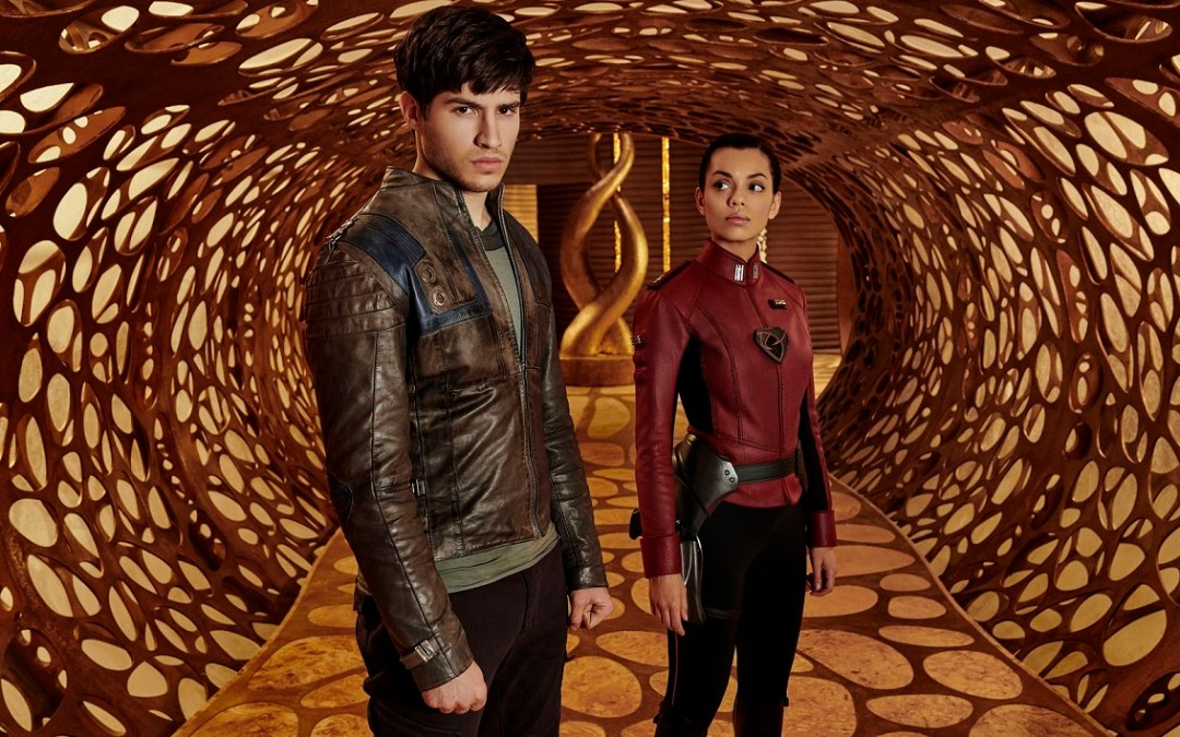 Discover the lost world of Superman on Warner TV's Krypton