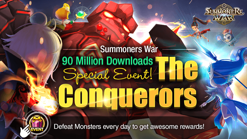 Summoners War Holds a Special Event to Celebrate Global 90 Million Downloads