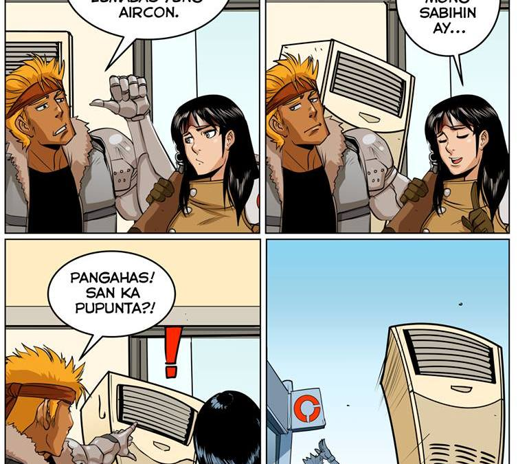Komik Artists are Spreading the Escaping Aircon Joke for April Fools