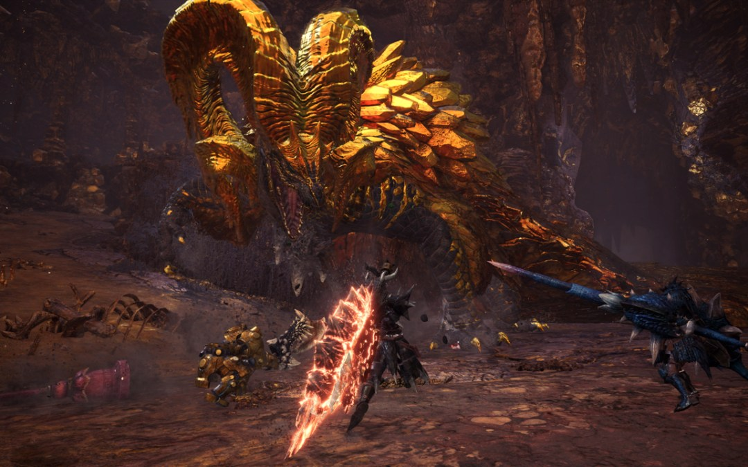 New Monster Hunter World Event Update will tackle on a new Elder Dragon