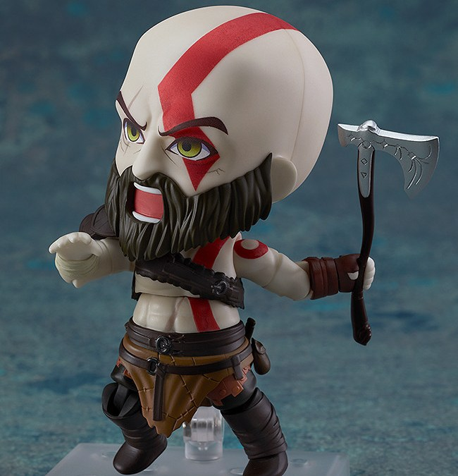 Here's a Cute But Angry Nendoroid Kratos for your Collection